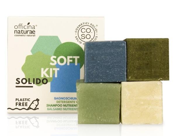 CO.SO Solid SOFT KIT Zestaw mini kosmetyków w kostce 4x25g