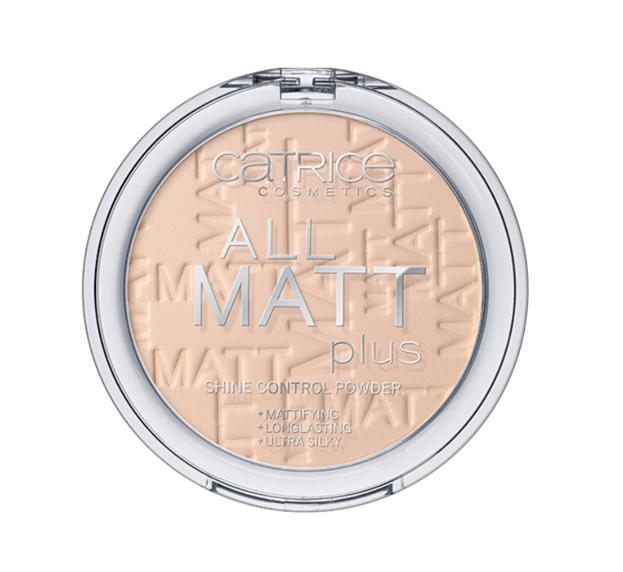Catrice All Matt Plus Shine Control Powder - Puder matujący 010 Transparent, 10 g
