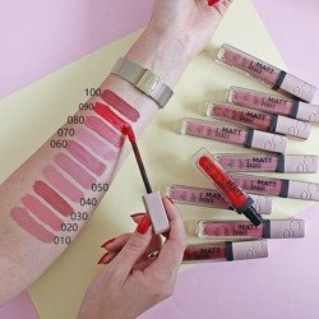 Catrice Matt Pro INK Liquid Lipstick Matowa pomadka w płynie 060 I choose Passion 5ml