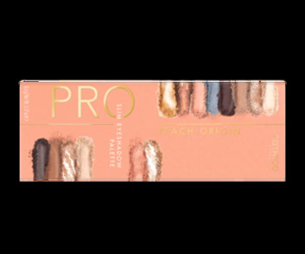 Catrice PRO Slim Eyeshadow Palette Paleta cieni do powiek Peach Origin
