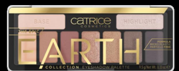 Catrice The Epic EARTH paleta cieni 010 10g