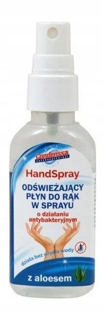 Condenssa Antybakteryjny płyn do rąk w sprayu aloesowy 60ml