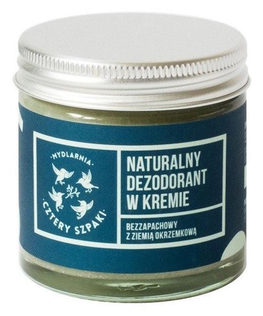 Cztery Szpaki Dezodorant w kremie bezzapachowy 60ml