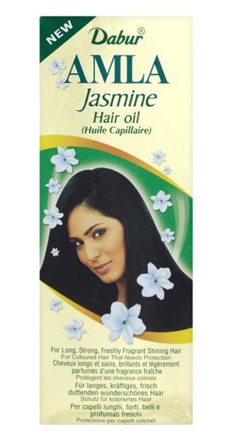 Dabur Amla Jasmine Hair Oil - Olejek do włosów jasnych