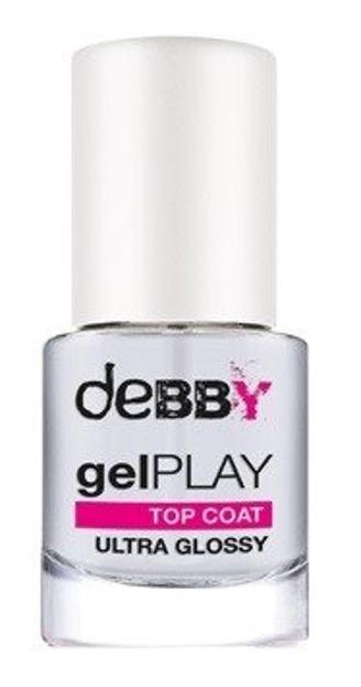 Debby Gel Play Top Coat Gel Effect Nawierzchniowy lakier do paznokci 7,5ml