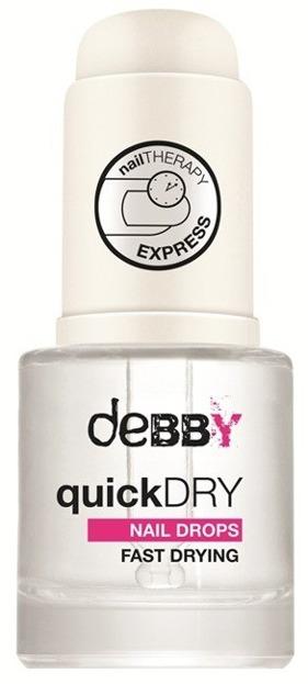 Debby Quick Dry Nail Drops Wysuszacz lakieru do paznokci