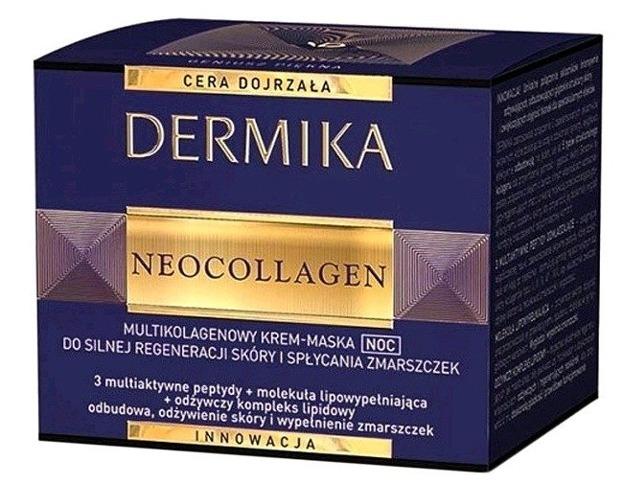 Dermika Neocollagen Multikolagenowy Krem-Maska Noc 50ml