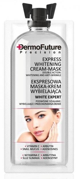 DermoFuture Express Maska-Krem wybielająca 12ml