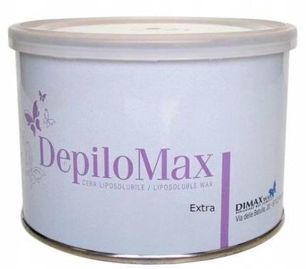 Dimax Depilomax Wosk w puszce Zielony 400g