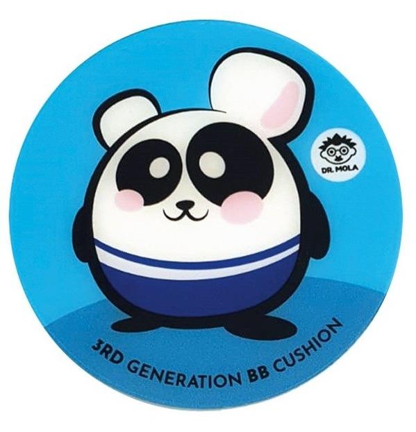 Dr. Mola 3rd M Generation BB Cushion Krem BB w kompakcie 21 Light Beige 15g