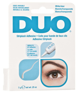 Duo Eyelash Adhesive Klej do rzęs kępki paski White-Clear 7g