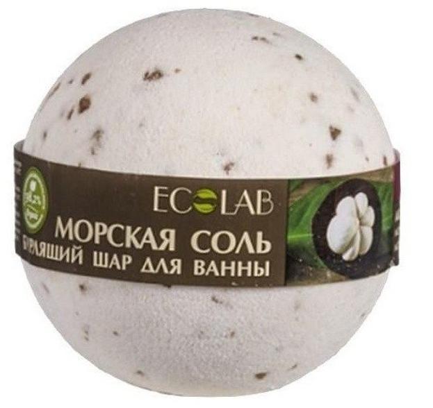 EOLAB Musująca kula do kąpieli morska z ekstraktem z magnostanu i wanilii 220g