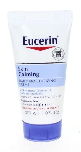 Eucerin Skin Calming Daily Moisturizing Creme - Nawilżający, łagodzący krem na dzień 28g