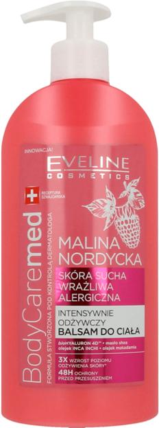 Eveline BodyCaremed Balsam do ciała Malina nordycka 350ml