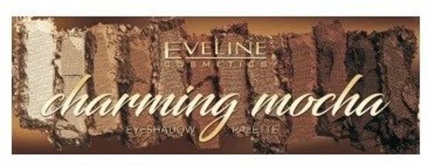 Eveline Cosmetics Charming Mocha Paleta cieni do powiek