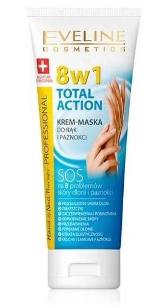 Eveline Total Action 8w1 krem-maska do rąk 75ml