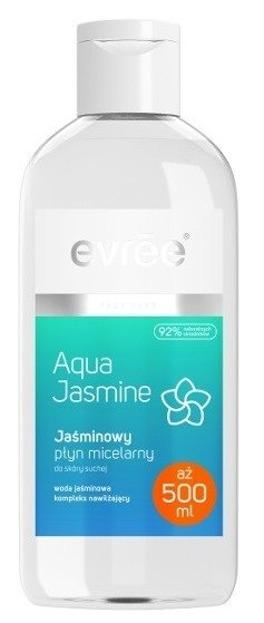 Evree Aqua Jasmine Jaśminowy płyn micelarny do skóry suchej 500ml