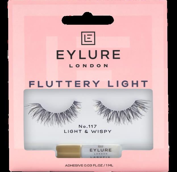 Eylure Fluttery Light 117 Sztuczne rzęsy na pasku