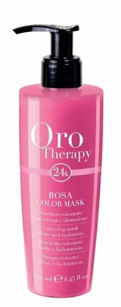 FANOLA Oro Therapy - Rosa Color Mask Maska koloryzująca do włosów 250ml