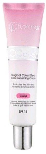 Flormar CC Cream Magical Color Effect CC03 40ml
