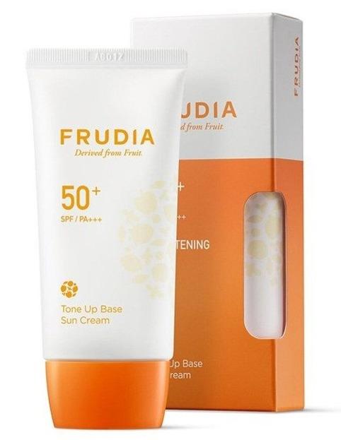 Frudia Tone up Base Sun Cream SPF50 Baza pod makijaż z filtrem SPF50 50g