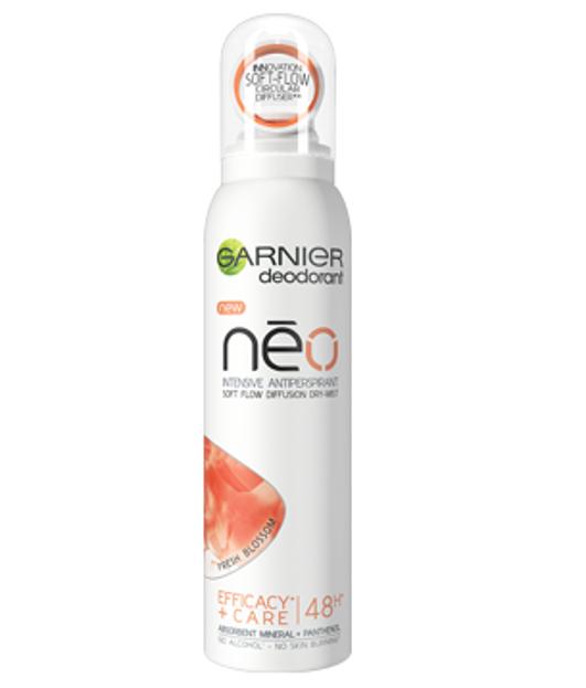 Garnier Neo Dry-Mist Fresh Blossom Antyperspirant dla kobiet 150ml