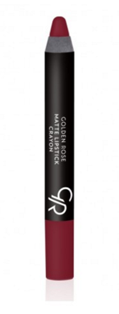 Golden Rose Matte Crayon Lipstick - Matowa pomadka do ust w kredce 05