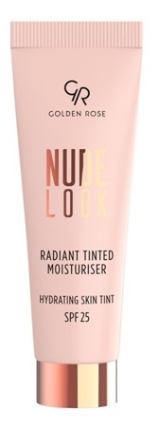 Golden Rose Nude Look Radiant Tinted Moisturiser Koloryzujący krem do twarzy z efektem rozświetlenia 02 32ml