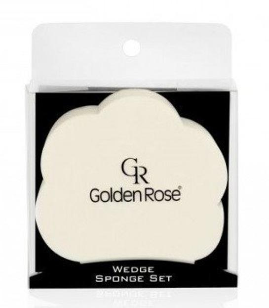 Golden Rose Zestaw gąbek do podkładu 6szt