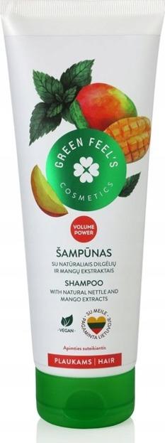 Green Feel's Zwiększający objętość szampon z ekstraktem z mango i pokrzywy 250ml