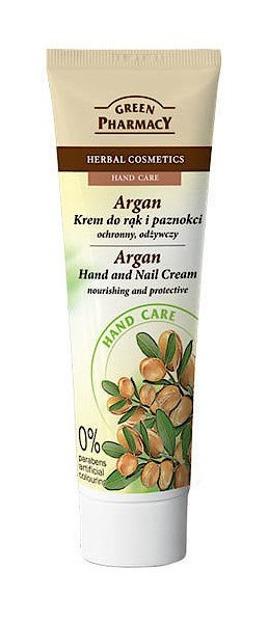 Green Pharmacy Argan krem do rąk i paznokci, odżywczy, ochronny 100ml