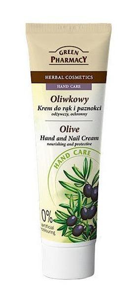 Green Pharmacy Oliwkowy krem do rąk i paznokci, odżywczy, ochronny 100ml