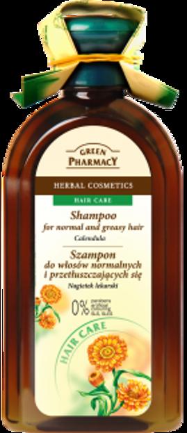 Green Pharmacy Szampon do włosów normalnych i przetłuszczających się Nagietek lekarski 350ml