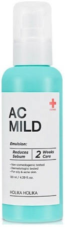 Holika Holika AC&MILD - Soothing Emulsion Nawilżająca emulsja do twarzy 130ml