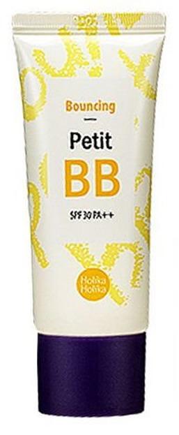 Holika Holika Bouncing Petit BB Cream SPF 30PA++ - Ujędrniająco – nawilżający krem BB, 30 ml
