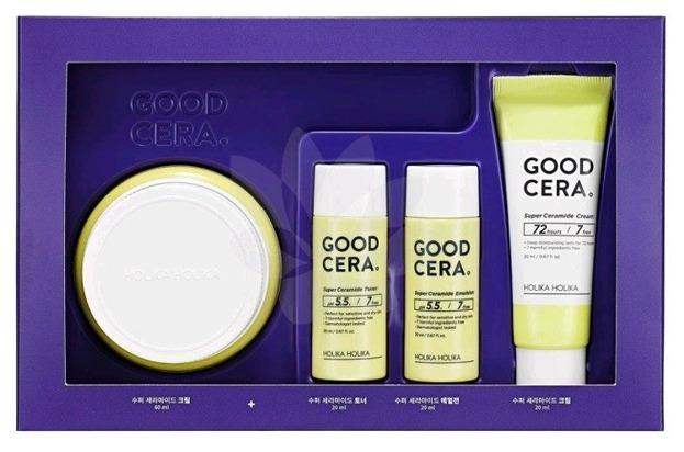 Holika Holika Good Cera Super Ceramide Cream Gift Set Zestaw głęboko nawilżający