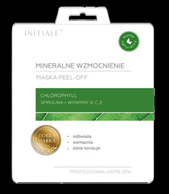 INITIALE Maska peel-off Mineralne wzmocnienie Chlorophyll 12g