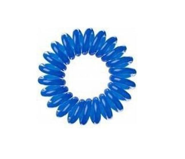 INVISIBOBBLE Niebieskie gumki do włosów, opakowanie 3 sztuki