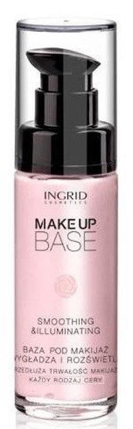 Ingrid Smoothing & Illuminating Makeup Base - Wygładzająco – rozświetlająca baza pod makijaż, 30 ml