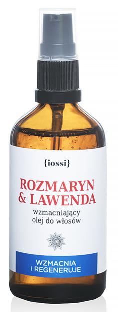 Iossi Wzmacniający olej do włosów Rozmaryn&Lawenda 100ml