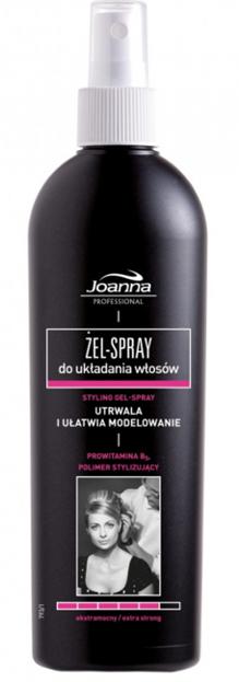 Joanna Professional Żel-spray do układania włosów 300ml
