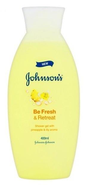 Johnson's Be Fresh&Retreat Żel pod prysznic 400ml