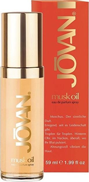 Jovan Musk oil Woda perfumowana dla kobiet 59ml