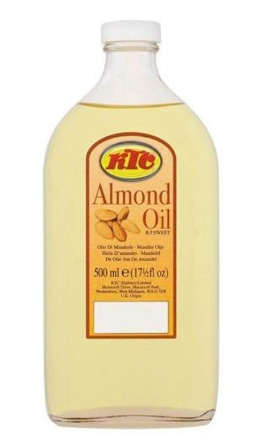 KTC Almond Oil Uniwersalny olejek migdałowy do pielęgnacji 500 ml