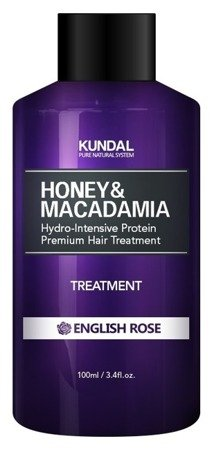 KUNDAL Honey&Macadamia Treatment ENGLISH ROSE Odżywka do włosów Angielska róża 100ml