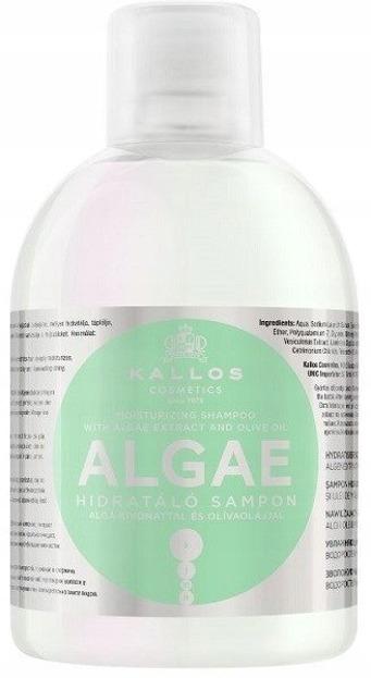 Kallos Algae Shampoo - Szampon algowy, 1000 ml