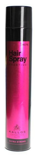 Kallos SNC78 Hair Spray Prestige Extra Strong - Lakier do włosów ekstra mocny, 750 ml