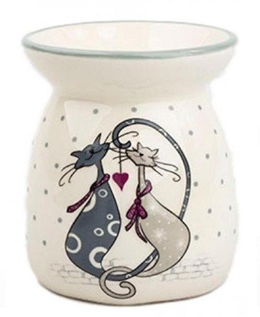Kringle Candle Kominek do wosku Zakochane Koty