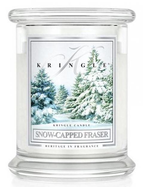 Kringle Candle Słoik średni Snow-Capped Fraser 411g