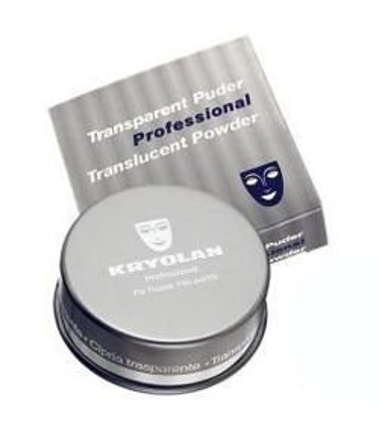 Kryolan Translucent Powder Professional - Puder transparentny  TL11, 60g